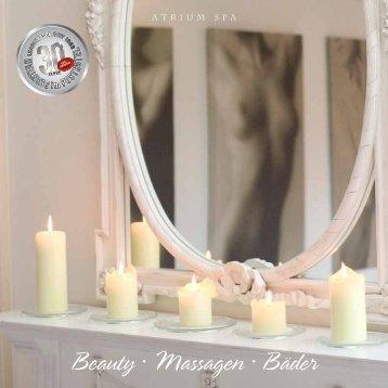 Beauty · Massagen · Bäder