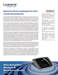 Ultra RangePlus Wireless-N Broadband-Router Optimierter ... - Digitec