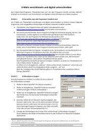 E-Mails verschlüsseln und digital unterschreiben