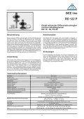 Direkt wirkende Differenzdruckregler und direkt wirkende ... - Seite 6