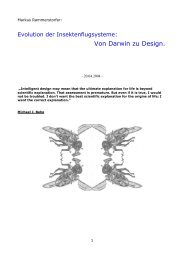 Von Darwin zu Design.