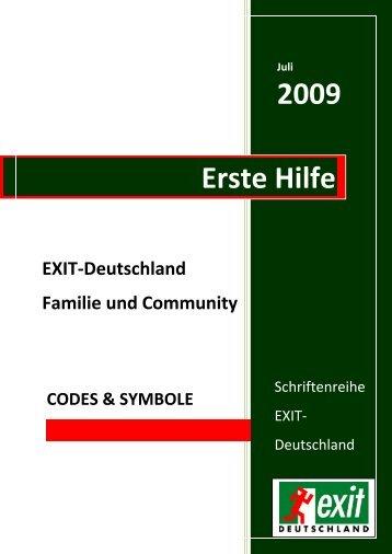 Erste Hilfe. Codes & Symbole - Migration-online