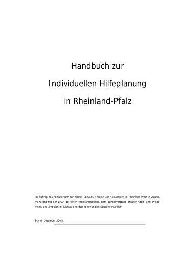 Handbuch zur individuellen Hilfeplanung - msagd - in Rheinland-Pfalz
