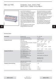 ABB i-bus® KNX Schaltaktor, xfach, 16/20 A, REG SA/S x.16.5.1 ...