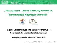 """""""Natur gesucht – Alpine Outdoorsportarten im ... - Naturparke"""