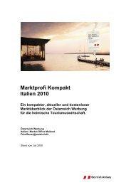 Marktprofi Kompakt_2010_Italien - SalzburgerLand Netoffice