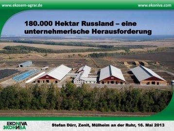 180.000 Hektar Russland