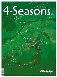€ 2,50 Frühjahr 2012 # 33 Das Globetrotter MaGazin - 4-Seasons.de