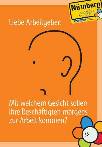 Kampagne für familienbewusste Personalpolitik - Stadt Nürnberg