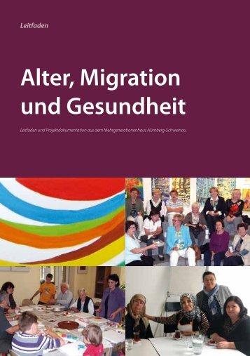 """Leitfaden """"Alter, Migration und Gesundheit"""" - Stadt Nürnberg"""
