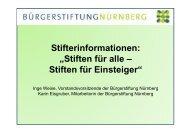 Vortrag Inge Weise, Karin Eisgruber - Stadt Nürnberg