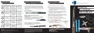 Faltblatt - Informationen zum aktuellen Waffenrecht