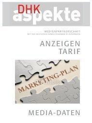 Werbemedium - der Deutschen Handelskammer in Österreich