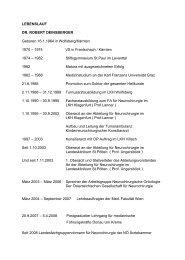 LEBENSLAUF DR. ROBERT DEINSBERGER Geboren 16.1.1964 in ...