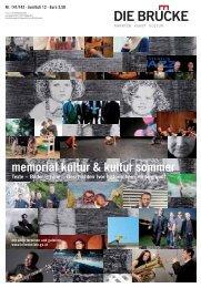 memorial kultur & kultur sommer Texte – Bilder