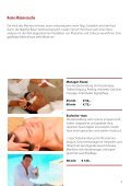 Massagen Beautyanwendungen & more - Seite 7