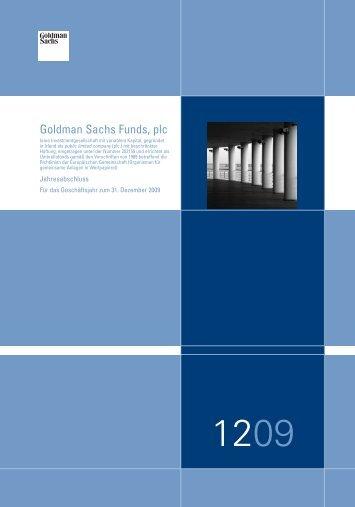 Goldman Sachs Funds, plc - Stockselection GmbH
