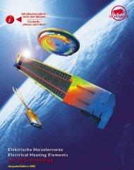 Heizelemente PTC- heating elements - Eichenauer