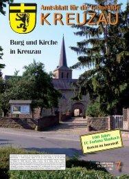 Amtsblatt Nr. 07/2010 vom 23.07.2010 - Gemeinde Kreuzau