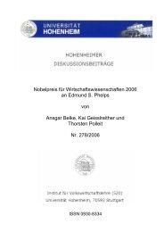 PDF Volltext - Universität Hohenheim