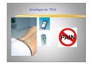 Grundlagen der TENS - PAINCOURSE