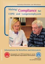 Compliance ...bei COPD und Lungenemphysem - Patienten ...