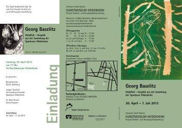 Georg Baselitz Georg Baselitz