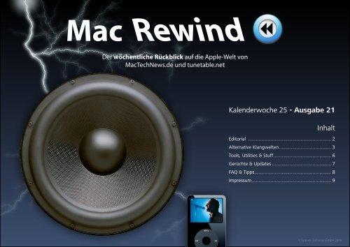 Mac Rewind - Issue 21, KW25 - MacTechNews.de - Mac Rewind