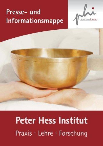 PDF-Datei - Peter Hess Institut