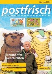 März   April 2013 - Deutsche Post - Philatelie