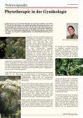 Phytotherapie in der Gynäkologie 4 S.4 Pflanze des Monats - Page 4