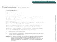 Blatt 1 - Praktische Informatik IV