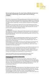Nutzungsbedingungen TMBW-Bilddatenbank - Presse - Baden ...