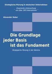 Strategische Planung in deutschen Unternehmen - Beuth ...