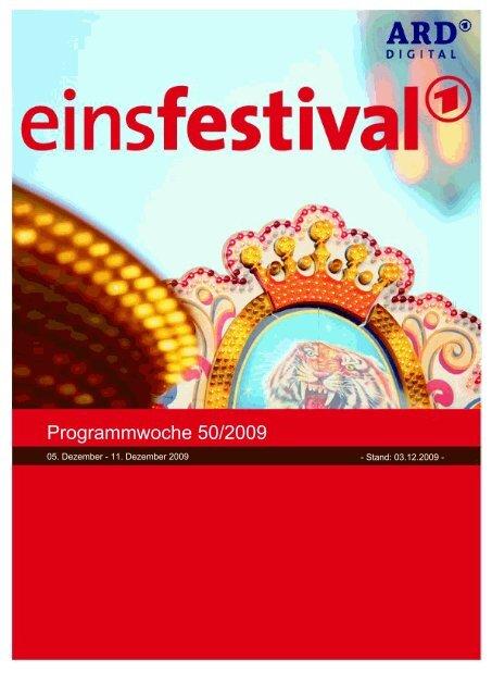 Programmwoche 50/2009 - ARD.de
