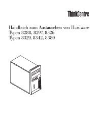 Handbuch zum Austauschen von Hardware - Ibm