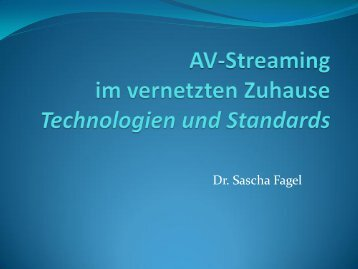 Dr. Sascha Fagel