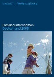 Familienunternehmen Deutschland 2006 - PwCPlus