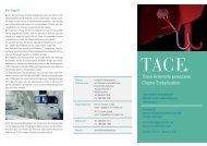 TACE-Flyer - Institut für Diagnostische und Interventionelle Radiologie