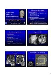 Fortbildung 04.11.2008 - Institut für Diagnostische und ...