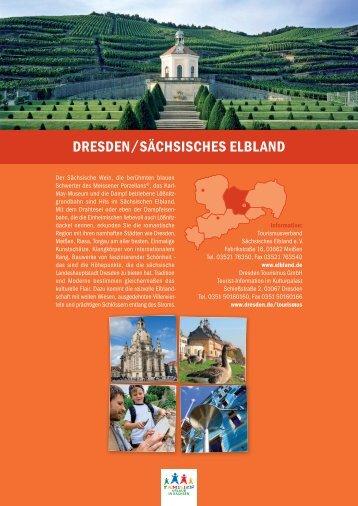 DRESDEN/SÄCHSISCHES ELBLAND