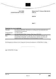 6865/04 - Öffentliches Register der Ratsdokumente - Europa