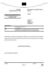 5474/07 - Öffentliches Register der Ratsdokumente
