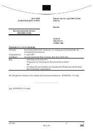 8523/03 - Öffentliches Register der Ratsdokumente - Europa