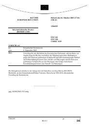 13664/03 - Öffentliches Register der Ratsdokumente - Europa