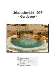 Urlaubsbericht 1997 - Gardasee - - Reocities