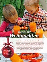 FAMILIE: Warten auf Weihnachten
