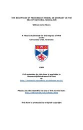 William John Niven Phd Thesis - University of St Andrews