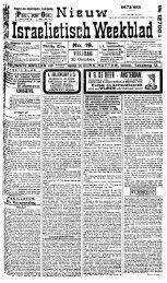 Nieuw Israelietisch weekblad - Koninklijke Bibliotheek
