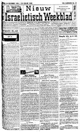 Nieuw Israelietisch weekblad